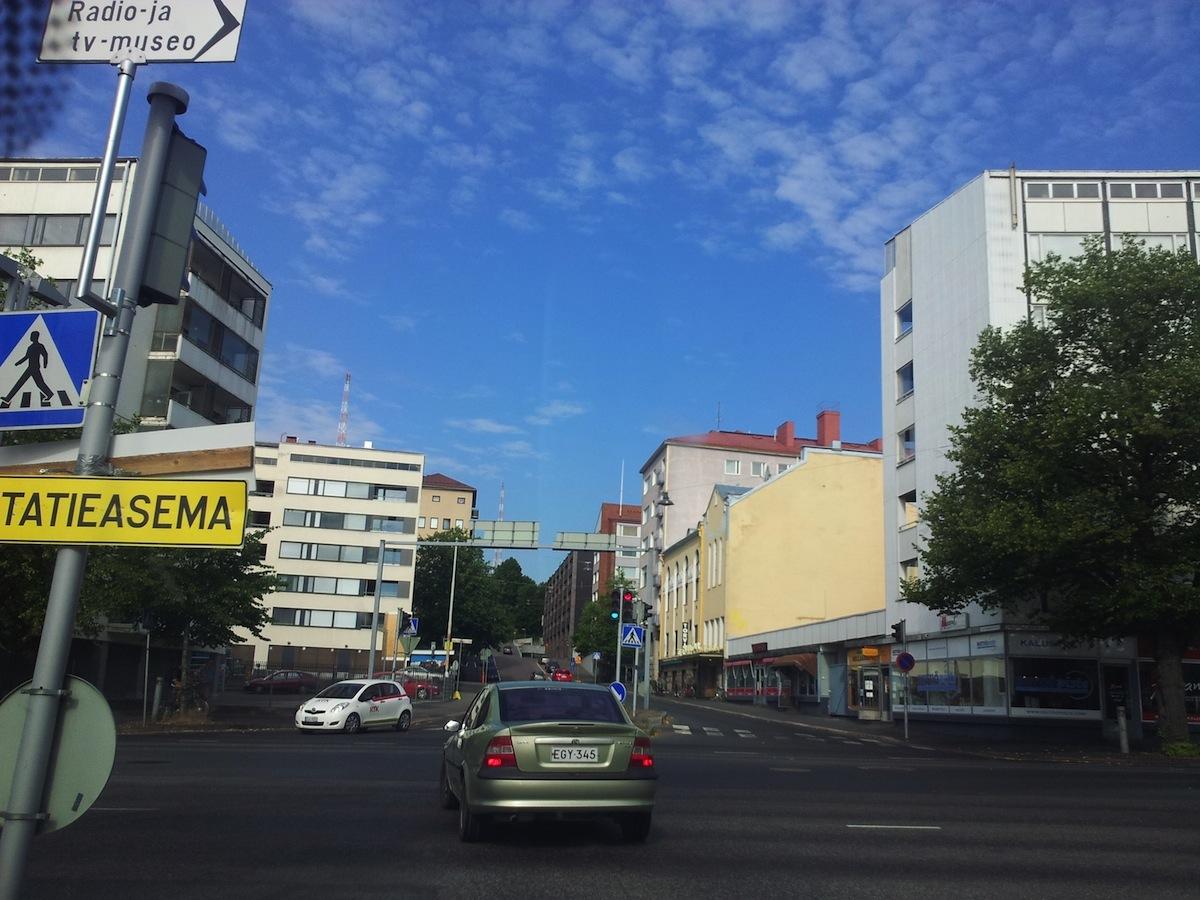 Tulevaisuuden liikenneverkkoja ryhdytään pohtimaan parlamentaarisen työryhmän toimesta. (Kuva: Ville Miettinen)