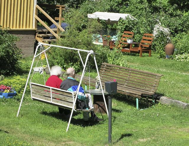 Omaishoidossa on kysymys vanhusten ja vammaisten hoidosta. (Kuva: Ville Miettinen)