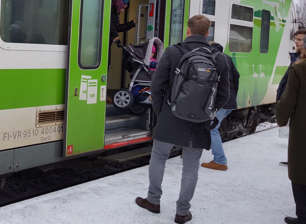 Ahkera junamatkustaminen näkyy lähes kaikessa, mitä Siuntion kunta on tehnyt. (Kuva: Ville Miettinen)