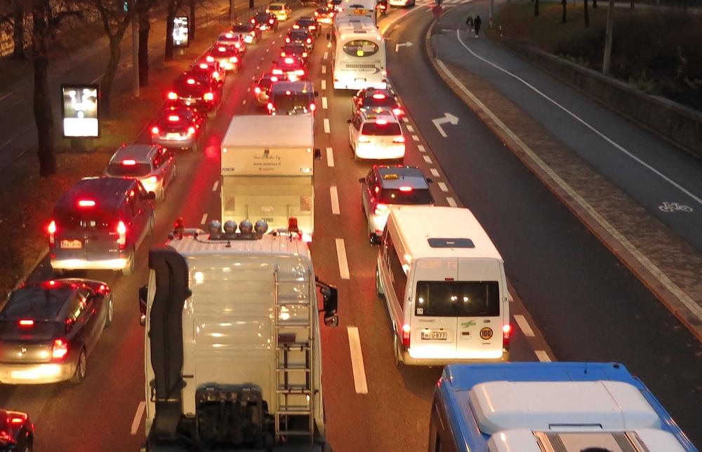 Koska autoverosta ei luovuta, ei liikenneverkkoyhtiön rahoitukselle ole edellytyksiä, Anne Berner sanoo. (Kuva: Ville Miettinen)