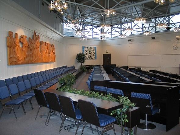 Hollolassa valitaan kuntavaaleissa 43 valtuutettua. (kuva: Hollolan kunta)