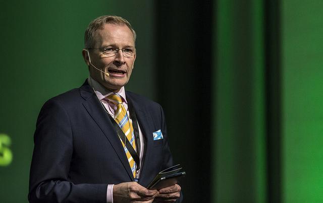 Risto E. J. Penttilä peräänkuuluttaa kuntien lainajärjestelmän uusimista. (Kuva: Pasi Murto)