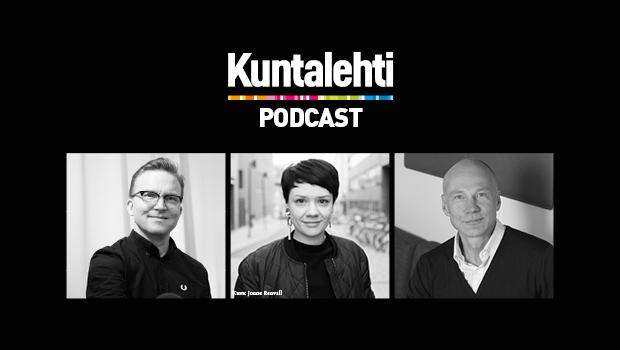 Kuntalehden podcastin mainoskuva