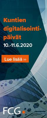 Mainos: Kuntien digitalisointipäivät 10. - 11.6.2020
