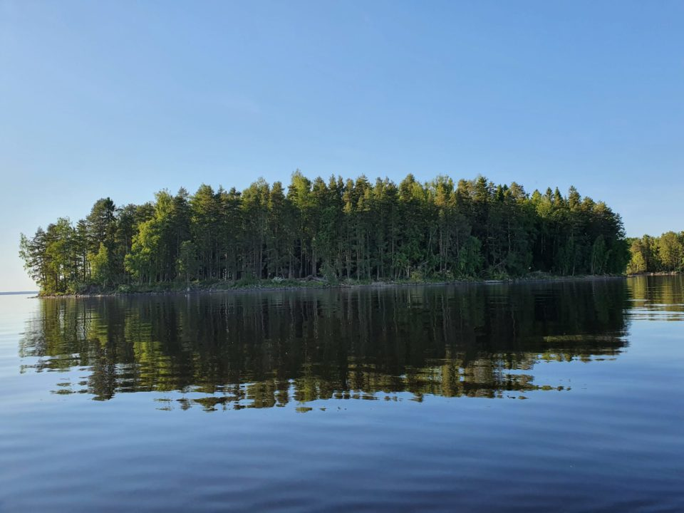 Kesäinen Lappajärven selkäsaari