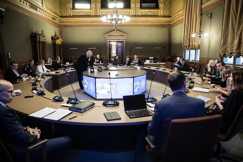 Hallitus budjettineuvotteluissa