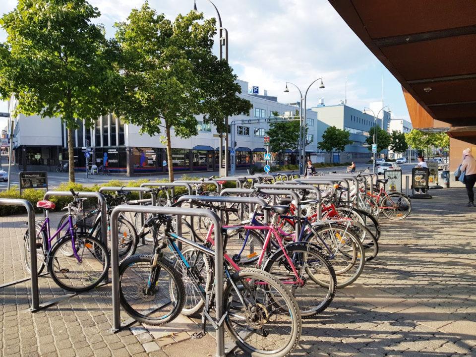 Pyöräparkki Jyväskylässä