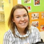 Lastentarhanopettaja Liisa Väisänen sanoo tasa-arvoasioiden tulleen esille jo koulutuksessa, mutta vasta hanke havahdutti niihin kunnolla.