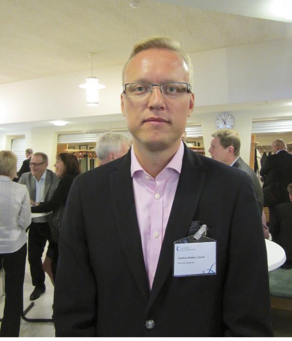 - Tämä on mielenkiintoinen tapahtuma ja tapa verkottua, Porvoon kaupunginjohtaja Jukka-Pekka Ujula kommentoi tapahtumaa