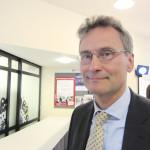 Antti Jämsen, Miehikkälän kunnanjohtaja, kehui kuntajohtajapäiviä siitä, että päivien aikana voi keskustella kollegoitten kanssa ja erityisesti sitä, että päivien aikana jaetaan myös kuntia koskevaa, uusinta tietoa.