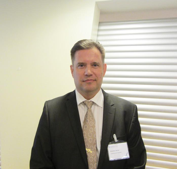 Lappeenrannan kaupunginjohtaja Kimmo Jarva.