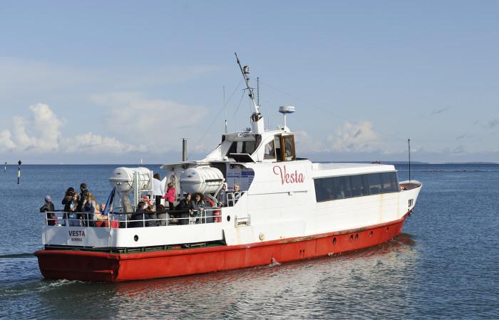 Tänä kesänä tallinnalaiset alkoivat matkustaa ilmaiseksi Vesta-laivalla Aegnan saarelle.
