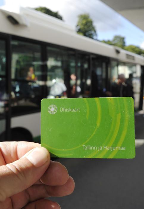 Tallinnalaisen on rekisteröitävä kaikki ilmaiset matkansa kortilla, joka maksaa kaksi euroa.