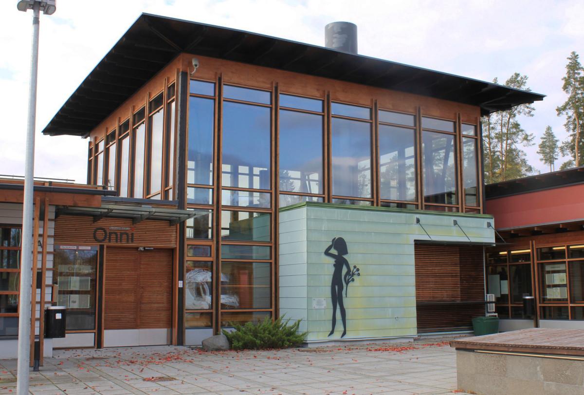 Pukkilan kunta rakensi Hyvinvointikeskus Onnin testamenttivaroilla.