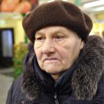 Lipon kanta-asiakas eläkeläinen Leida Margejeva.
