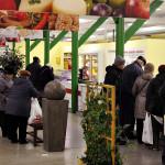 Kaupungin rahoittama kauppa toimii entisen Lasnamäen torin kauppahallissa.