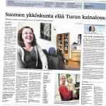 Helsingin Sanomat asetti kuntia paremmuusjärjestykseen 17 kriteerin avulla. Kriteerien suuri määrä ei tuonut mitään lisäarvoa selvitykseen (Helsingin Sanomat 28.10.2012).