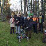 Vantaan opiskelijat ilahduttivat Vantaan elinkeinopäiville osallistujia taiteilemalla paikan päällä tulevaisuutta.