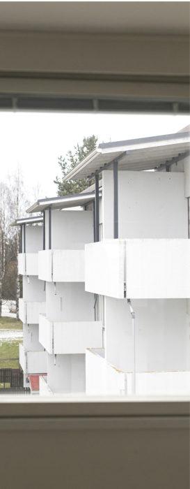 1960- ja 1970-luvulla valmistuneiden elementtitalojen suuria huoneistoja on vaikea muuttaa pienasunnoiksi.
