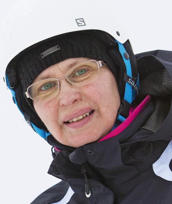 Anne Talvensaari-Mattila on myös tunturilääkäri. Kuva: Kaisa Sirén