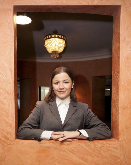 Ensikertalainen ehdokas Linda Ahlblad uskoo, että hyvä ehdokas on suorapuheinen, rehellinen ja yleistä etua ajava. Kuva: Seppo Haavisto