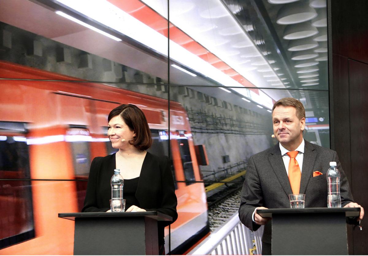 Vihreiden Anni Sinnemäki ja kokoomuksen Jan Vapaavuori ovat puolueidensa ehdokkaita pääkaupungin ensimmäiseksi pormestariksi. Valinnan tekee vasta uusi valtuusto.