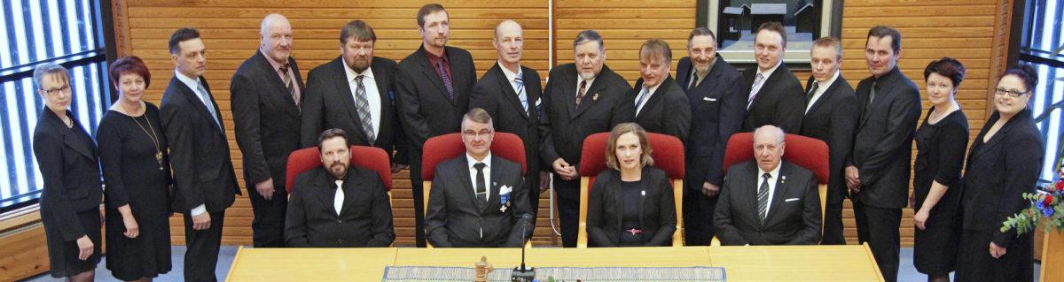 Evijärven kunnanvaltuusto pääsi juhlistamaan maaliskuussa kuntansa 150-vuotisjuhlia juhlavaltuuston merkeissä.