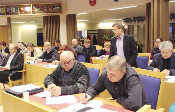 Muuttoliikkeen hillintä ja elinvoiman lisääminen ovat työllistäneet Sallan kunnanvaltuustoa.